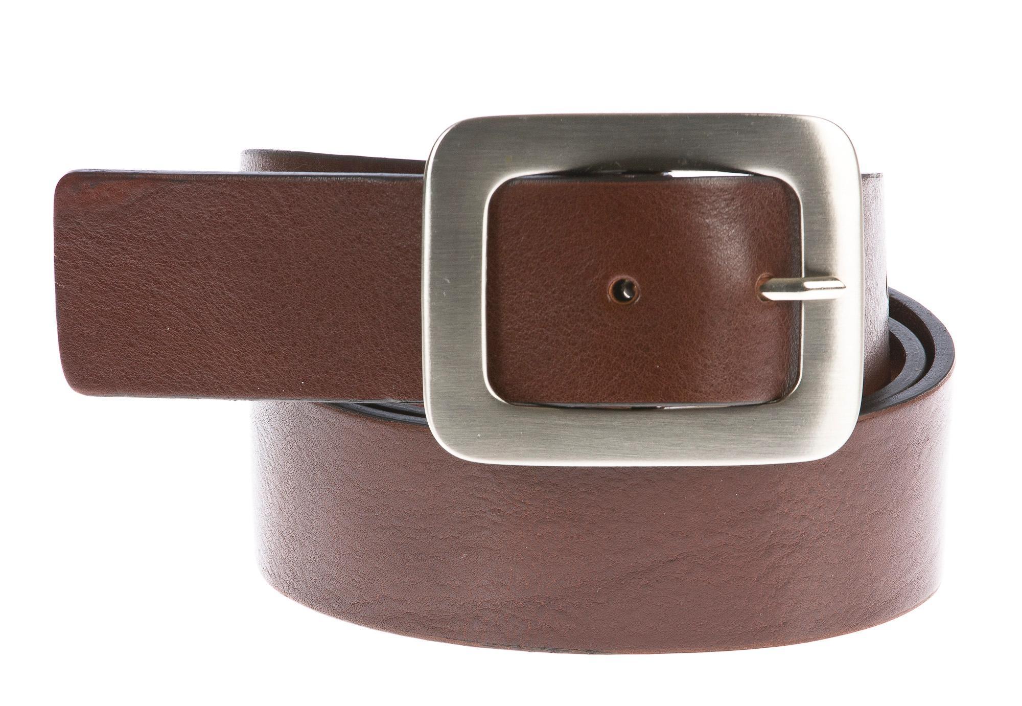 Cintura donna in vera pelle DELIA REI mod. BRESLAVIA colore MARRONE Made in Italy