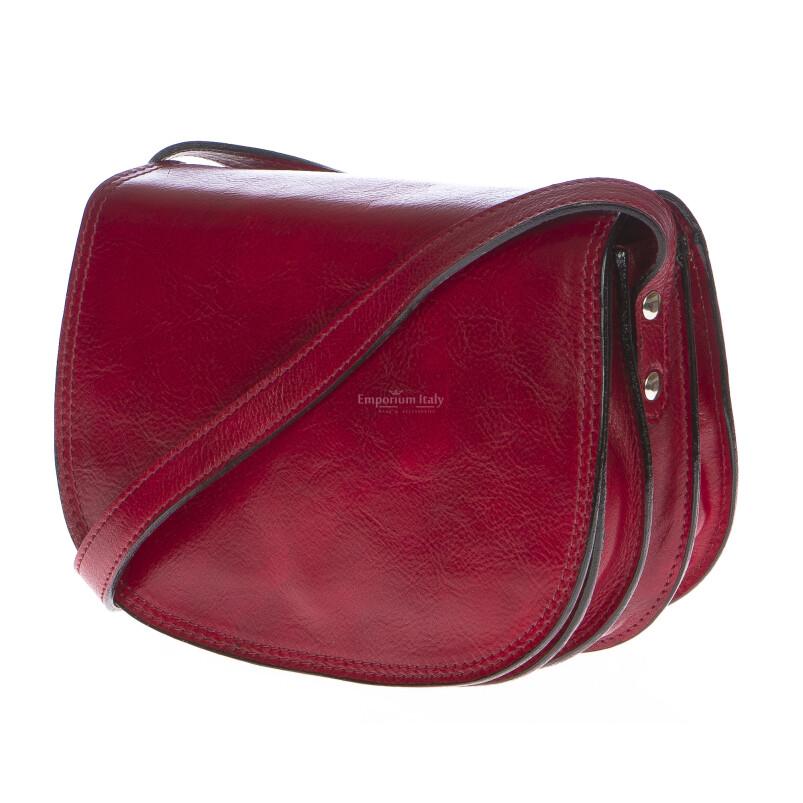 Borsa donna in vera pelle RINO DOLFI mod. NOEMI colore ROSSO Made in Italy