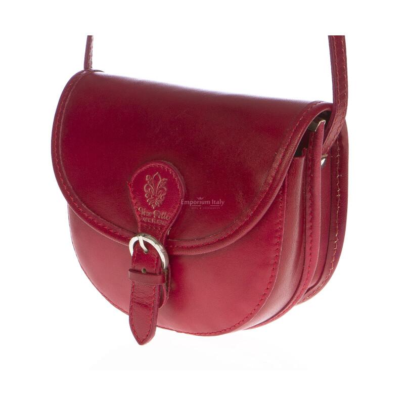 Borsa donna in vera pelle MAESTRI mod. RAMONA colore MULTICOLORE Made in Italy