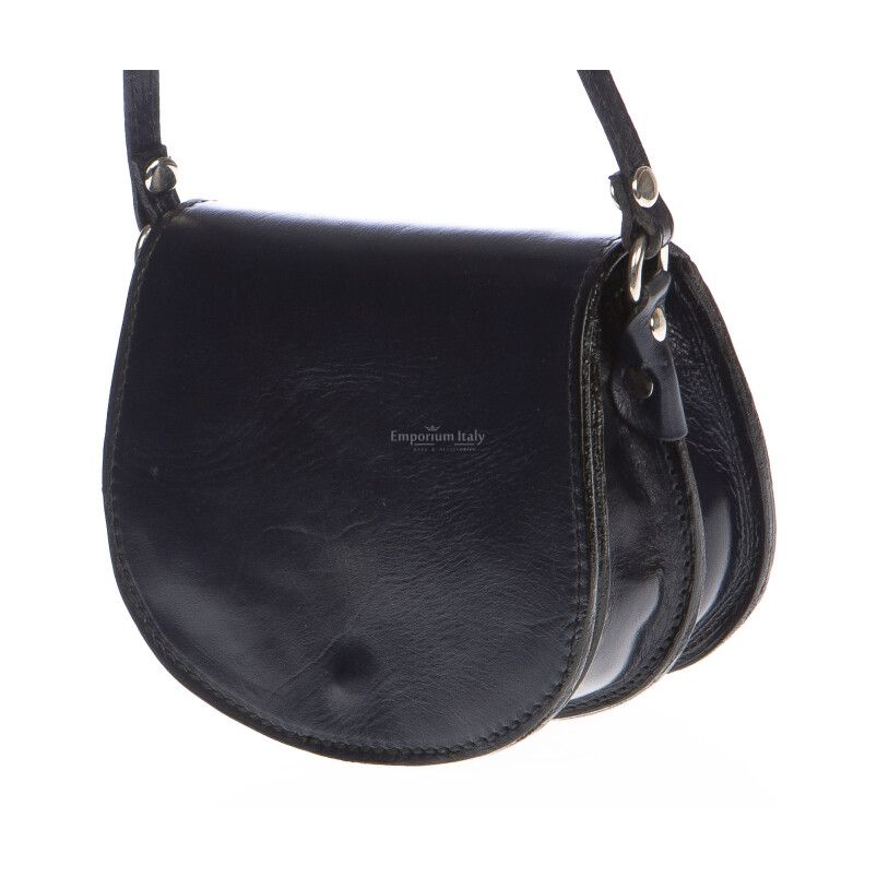 Borsa donna in vera pelle RINO DOLFI mod. REBECCA colore NERO Made in Italy