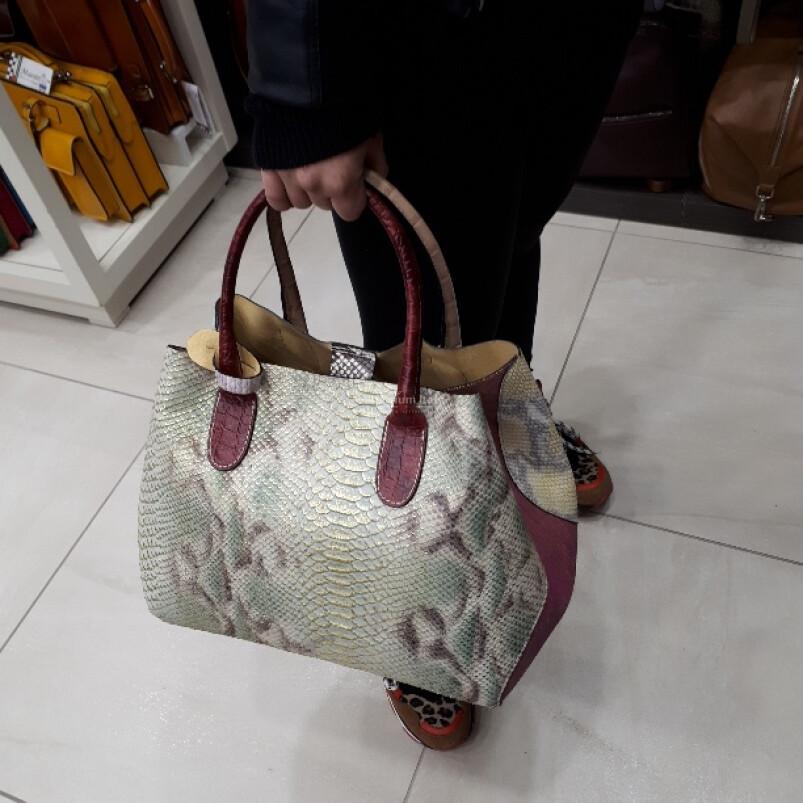 DELY: borsa donna in vera pelle