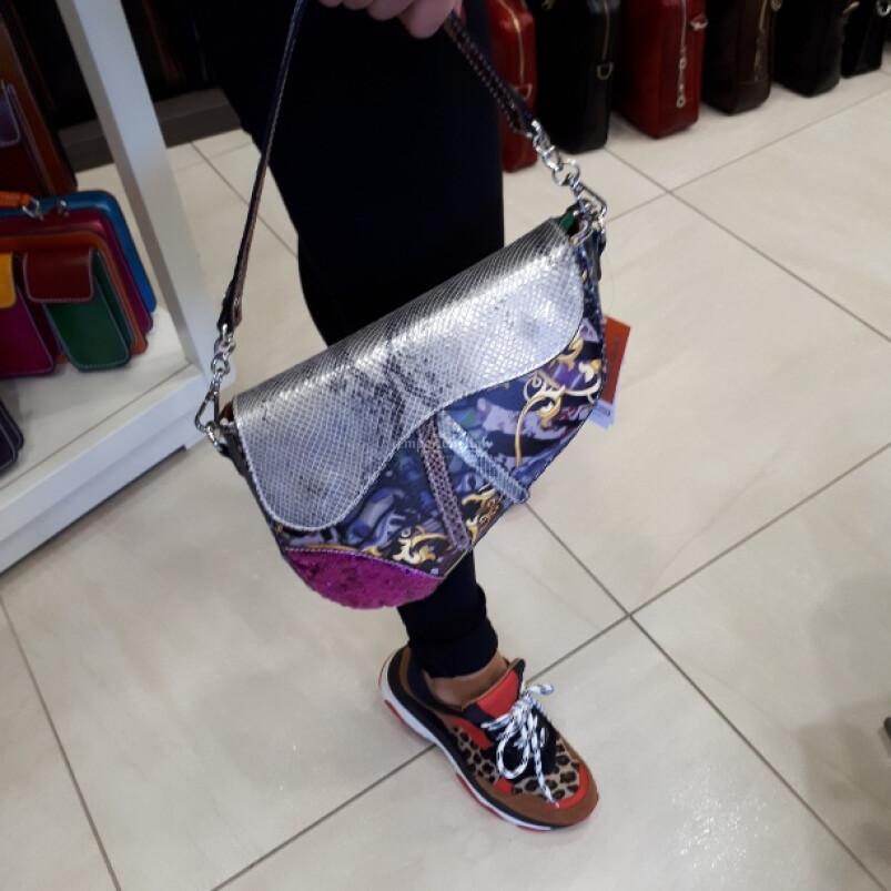 ALBINA : borsa donna in vera pelle