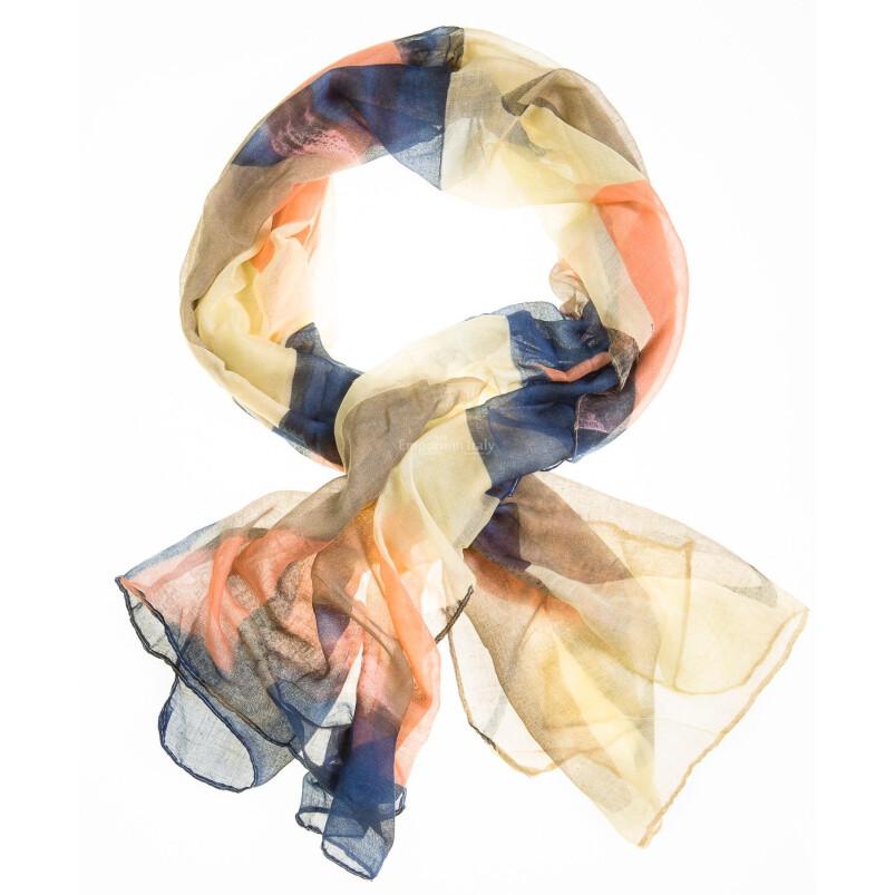 Sciarpa donna  mod. Ciliegia colore MULTICOLORE