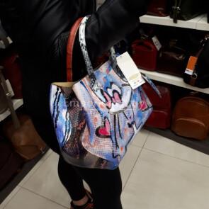 DELY MINI LIMITED: borsa donna in vera pelle, dipinta a mano