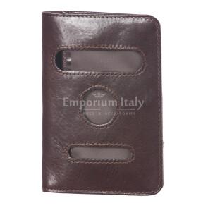 Бумажник мужской / женский из традиционной кожи мод. GERMANIA