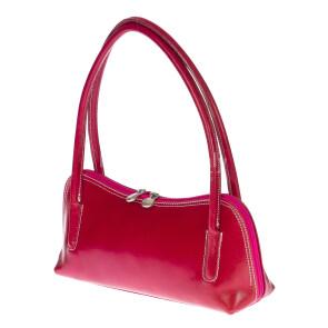Borsa donna in vera pelle RINO DOLFI mod. EDA colore FUCSIA Made in Italy