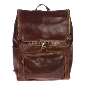 Backpack buffered real leather mod. EVEREST MAXI