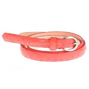 Ladies sauvage real leather belt mod. VIENNA