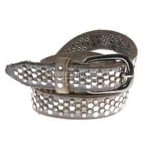 Ladies buffered real leather belt mod. BARCELLONA