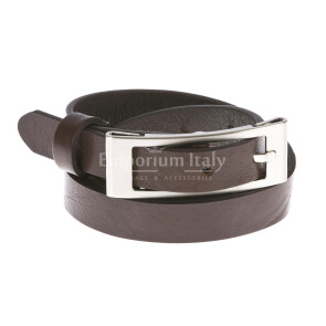 Ladies buffered real leather belt mod. CARRARA