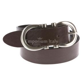 Ladies buffered real leather belt mod. MONACO