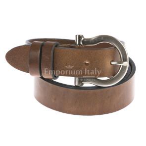 Ladies buffered real leather belt mod. ZAGABRIA
