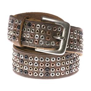 Mens buffered real leather belt mod. CARTAGENA