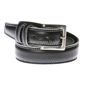 Mens buffered real leather belt mod. PECHINO