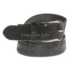 Mens buffered real leather belt mod. SANTOS