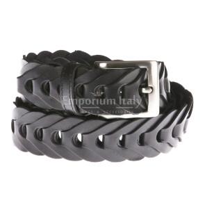Mens buffered real leather belt mod. WASHINGTON