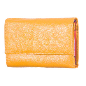 Ladies wallet in traditional leather mod. ORTENSIA