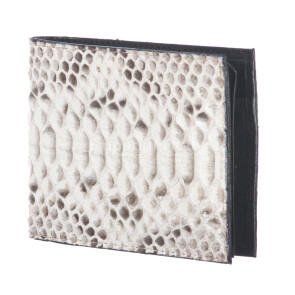 Mens wallet in python leather mod. NEPAL