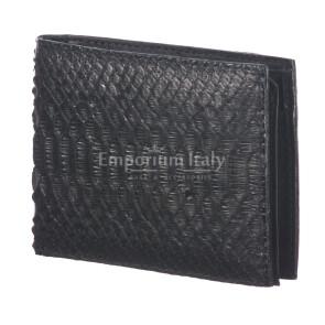Mens wallet in python leather mod. SENEGAL