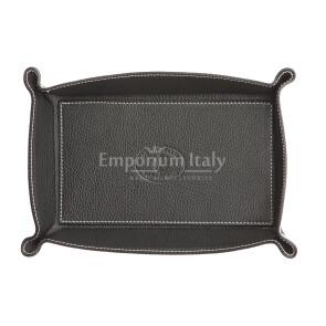 Кошелёк-перчатка  мужская / женская из кожи EMPORIO TITANO мод. HARRY2, цвет ЧЁРНЫЙ, Made in Italy.