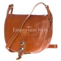 Borsa donna in vera pelle RINO DOLFI mod. TATIANA colore MIELE Made in Italy