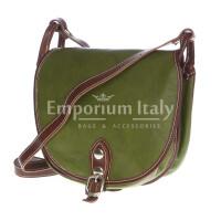 Borsa donna in vera pelle RINO DOLFI mod. TATIANA colore VERDE Made in Italy