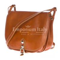 Borsa donna in vera pelle RINO DOLFI mod. TERESA colore MIELE Made in Italy