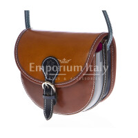 Borsa donna in vera pelle MAESTRI mod. RAMONA colore MULTICOLORE Made in Italy