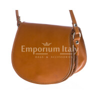 Borsa donna in vera pelle RINO DOLFI mod. REBECCA colore MIELE Made in Italy