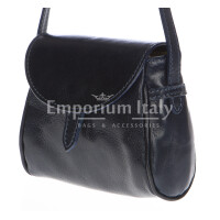 Borsa donna in vera pelle RINO DOLFI mod. ROSETTA colore NERO Made in Italy
