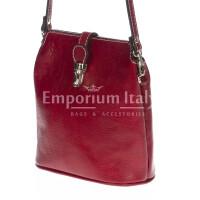 Borsa donna in vera pelle RINO DOLFI mod. NIVEA colore ROSSO Made in Italy