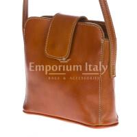 Borsa donna in vera pelle MAESTRI mod. ROSSANA colore MIELE Made in Italy