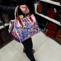 DELY MINI LIMITED: borsa donna in pelle morbida, colore : MULTICOLOR, Made in Italy