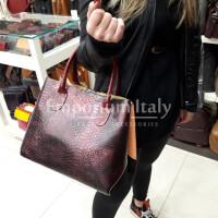 DELY : borsa donna in pelle morbida, colore : MULTICOLOR, Made in Italy
