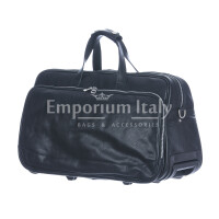 Travel bag buffered real leather mod. LAMBRO SMALL
