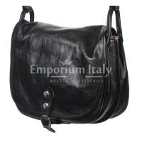 Borsa donna in vera pelle RINO DOLFI mod. TERESA colore NERO Made in Italy
