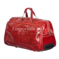 Travel bag buffered real leather mod. LAMBRO SMALL