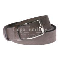 Cintura uomo in vera pelle RINO DOLFI mod. RIO colore MARRONE Made in Italy