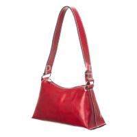 Borsa donna in vera pelle RINO DOLFI mod. MARILYN, colore ROSSO, Made in Italy.