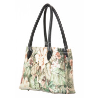 Borsa donna in vera pelle DELIA REI mod. ENRICA, MULTICOLORE, Made in Italy