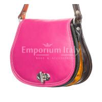 Borsa donna in vera pelle RINO DOLFI mod. ELANIE, MULTICOLORE, Made in Italy.