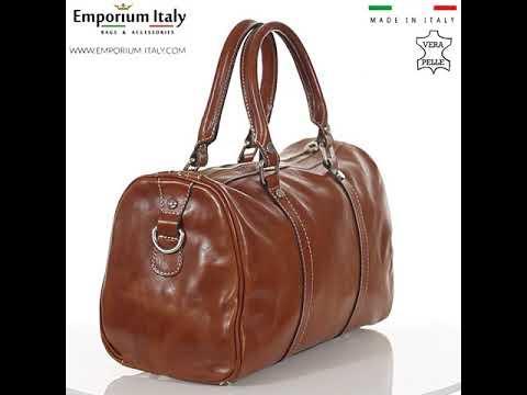 Borsa donna in vera pelle RINO DOLFI mod. CATIA, colore MIELE/CUOIO, Made in Italy.